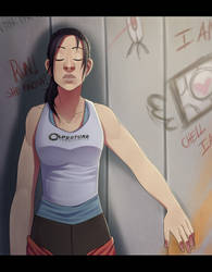 Portal 2: Here comes the sun. by Rad-Pax