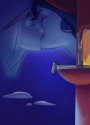 Good Night Kiss by scri3e
