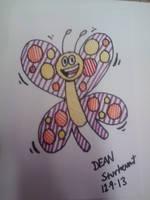 Butterfly by GreenUnicornArt