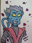 Nightcrawler by GreenUnicornArt