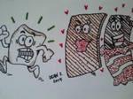 S'More Love by GreenUnicornArt
