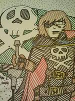 Captain Harlock by GreenUnicornArt