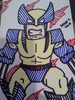 Wolverine by GreenUnicornArt