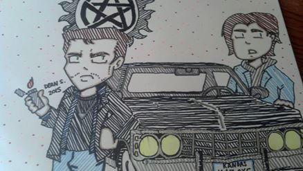 Sam and Dean by GreenUnicornArt