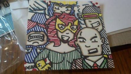 Original X-Men by GreenUnicornArt