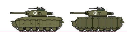 Alt. WW2 - T14E1 'Jumbo' Assault Tank (UK) by Sgt-Turbo