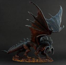 Ebonwrath Black Dragon by the-least