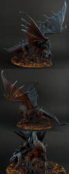 Ebonwrath Black Dragon - multi-angle by the-least