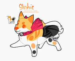 Meet Slushie Bell Doggo by Chikunia