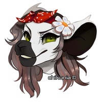 [C: Headshot] for Cosmicqt by Chikunia