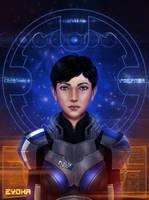 Mass Effect - Shepard by Eyoha