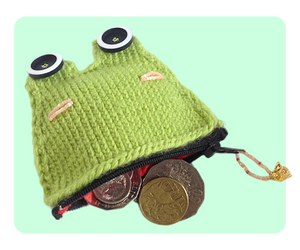 Frog Coin Purse by AmareeLis