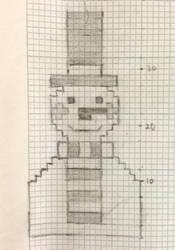 Sketch Stage 2: Snowman Mobile Phone Case by AmareeLis