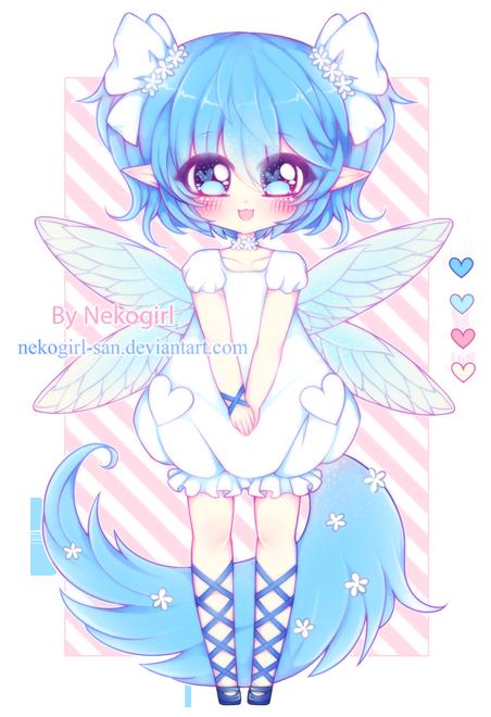 Fluffy fairy by nekogirl-san