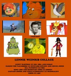 Lennie Weinrib Collage by rkerekes13