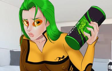 Polaris' Curiosity (Super Censored) by drawnthatwayxx