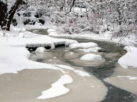 Winter Stream II by asaph70