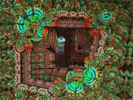 The secret passage-Alice Were's the Rabbit-pong119 by Topas2012