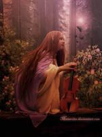 My Violin by maiarcita
