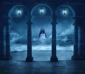 Born Of The Sea Foam by maiarcita