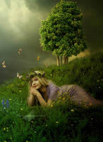 Peaceful Garden by maiarcita