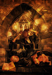 Transformed Pumpkins In Kittens by maiarcita