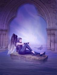 Purple Angel by maiarcita