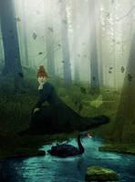 Beautiful Swan by maiarcita