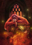 Oook Tribute to Terry Pratchett by maiarcita