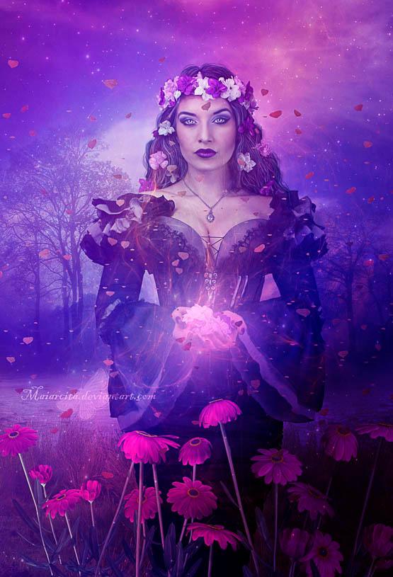 Magic Flowers by maiarcita