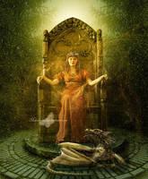 Magic Throne by maiarcita