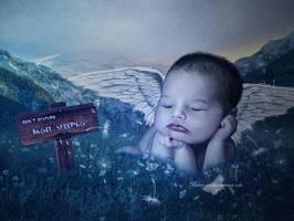 Angel Sleeping by maiarcita