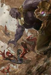 Avengers Infinity War #1 by LaxXter