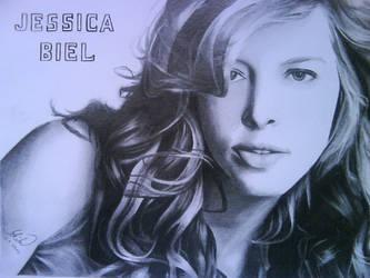 Jessica Biel by Tomicko