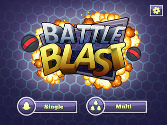 Battle Blast Mockup GUI by PhilllChabbb