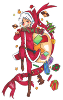 AT: Gilbert's christmas made for him and only him by Jennifer-yamada