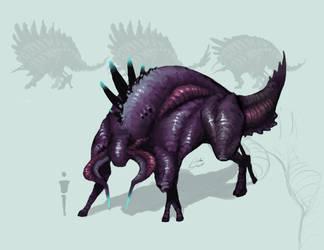 Boserix Sanguindae (Blood Bull) by Xionix-Kun