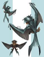 Fish Bat by Xionix-Kun