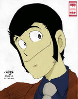 lupin III colored by reijr
