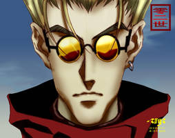 vash the stampede colored by reijr