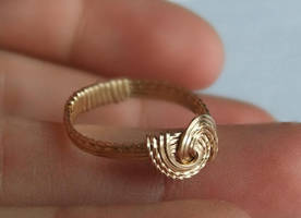 Gold Infinity Ring by SRTolton