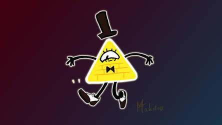 Bill Cipher - Borrows some Spats by Mahotou