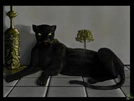 black pantera by nino4art
