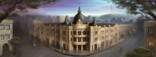 TBC Building by nino4art
