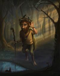 Ochopintre (forest keeper) by nino4art