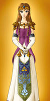 Princess Zelda by hpanna47