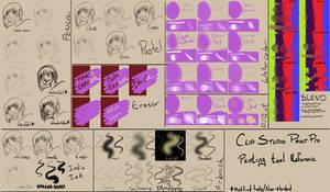 Clip Studio Paint brush guide by Yokoboo
