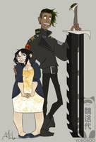 Bettie and Gawain by Yokoboo