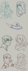 Survey Sketches by Yokoboo