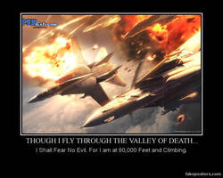 Though I Fly Through the Valley of Death... by Super6-4